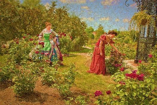 In the Garden by Don Krajewski