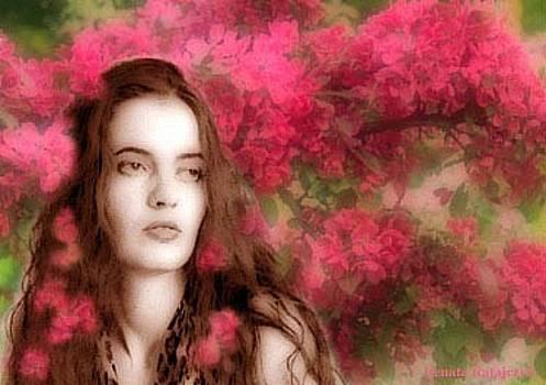 Renata Ratajczyk - In the Garden - from the Enchanted Garden series