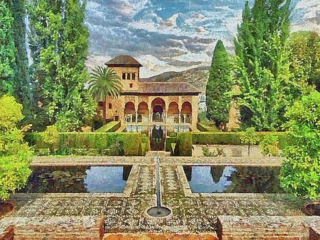 In the Gardens of Alhambra by Digital Photographic Arts