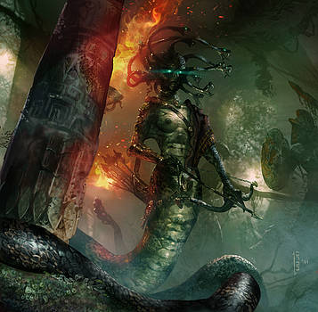 In the Lair of the Gorgon by Ryan Barger