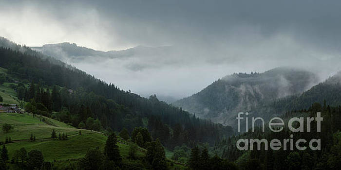 In The Mountain's Valley After The Rain by Michael Lesiv