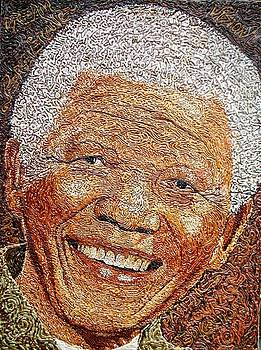 Nelson Mandela - In The Pyramid Of Our Minds by Bankole Abe