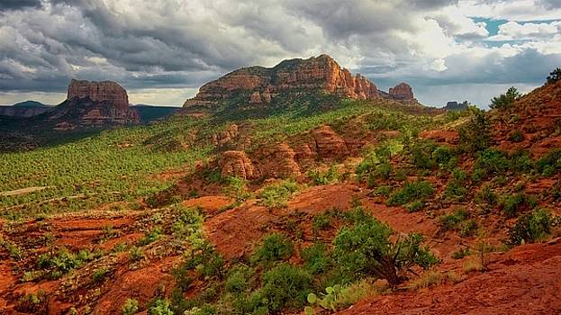 In the Shadow of Cathedral Rock by Flying Z Photography By Zayne Diamond