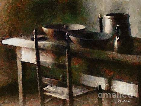 In the Shaker Kitchen by RC DeWinter