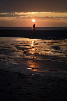 Angel  Tarantella - in the sunset