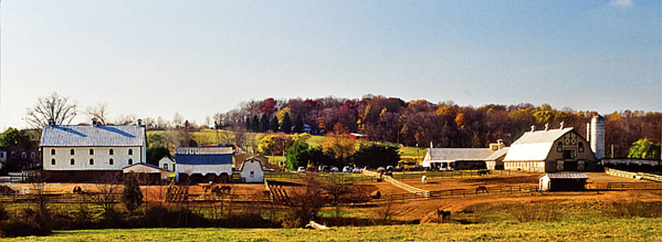 Bascule Farm, Poolesville, Maryland, November 17, 2001 by James Oppenheim