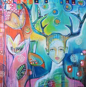 In the woods by Johanna Virtanen