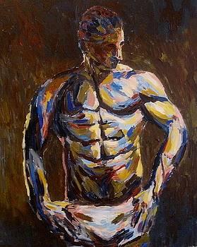 In underwear by Mats Eriksson