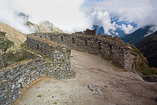 Aivar Mikko - Inca Ruins in Clouds