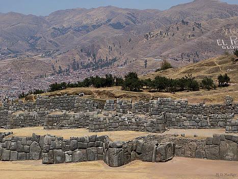 Celtic Artist Angela Dawn MacKay - Inca Ruins of Saksaywaman