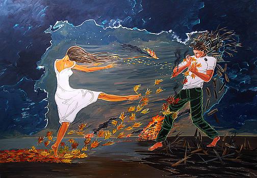 Incendiary by Lazaro Hurtado