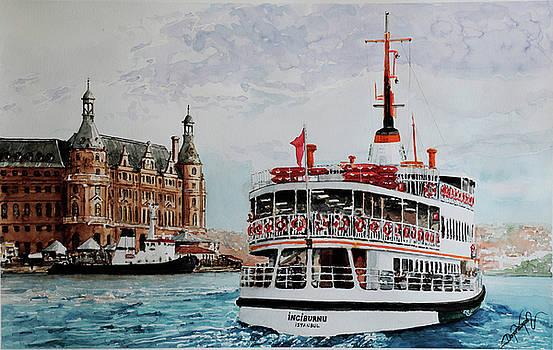 Inciburnu Ship by Dogan Soysal