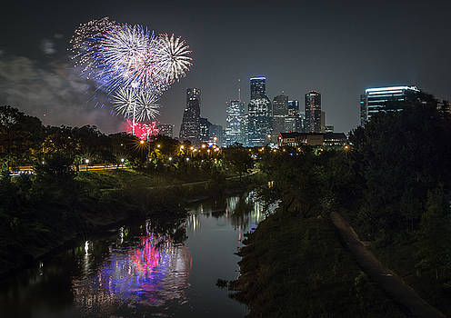 Independence Day Houston TX by Chris Multop