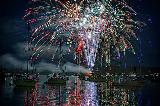 Independence Day in Maine by Rick Berk