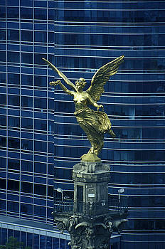 John  Mitchell - INDEPENDENCE MONUMENT ANGEL Mexico City