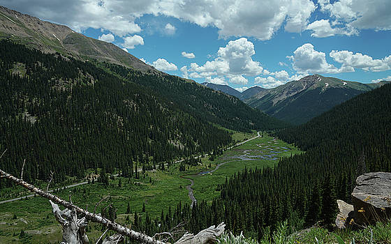 Independence Pass in Summer by Daniel Lowe