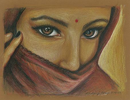 India Woman by Linda Nielsen