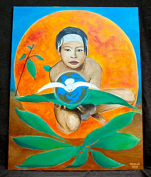 Indian and the Planet Earth by Susana Antunes