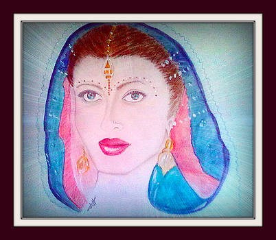 Indian-beautiful-woman by Moi