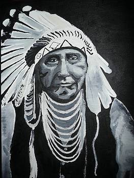 Indian Chief  by Clint Howard