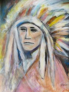 Indian Chief by Denice Palanuk Wilson