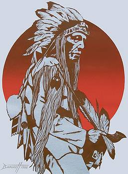 Indian Chief by Mark Barnett