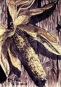 Indian Corn by Robbie L Rogers
