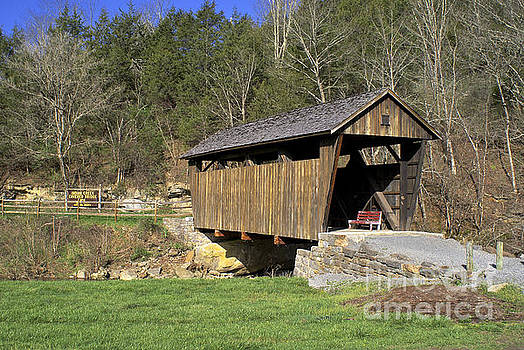 Indian Creek Covered Bridge by Lori Amway
