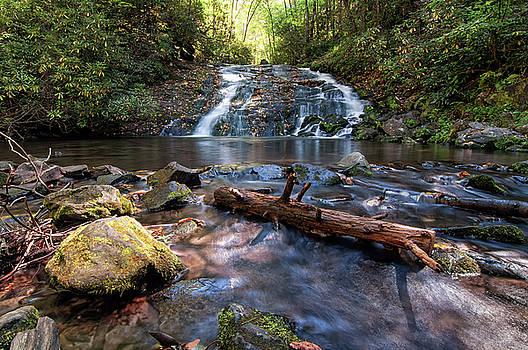Indian Creek Falls by Daryl Clark