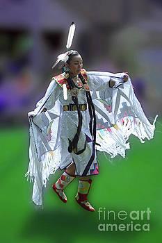 Indian Dancer by Joseph J Stevens