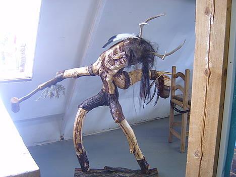 Indian Deer Dancer by Floyd Archuleta