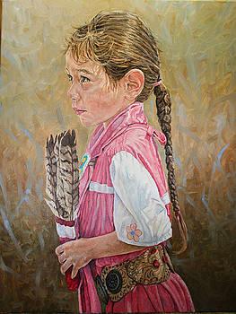 Indian girl by Jason  Swain