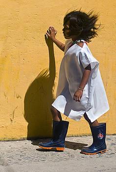Indian girl by Kobby Dagan