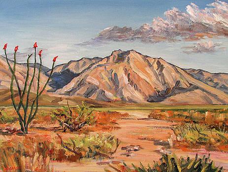 Indian Head Mt Borrego Desert in Morning Light by Robert Gerdes