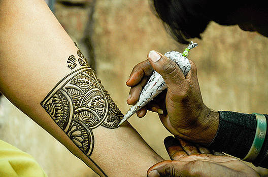 Indian henna by Freepassenger By Ozzy CG