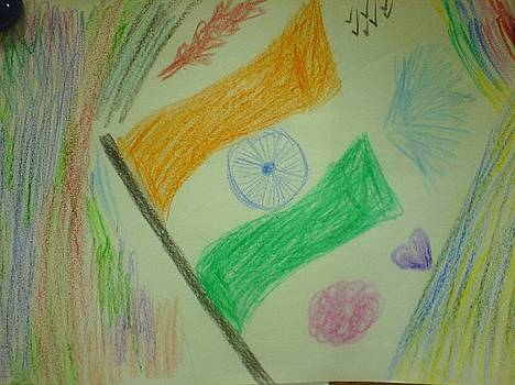 Indian Independence Freedom of Joy... by Sudheer Raju