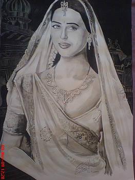 Indian Lady by Sandeep Kumar Sahota