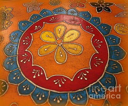 Indian Mandala  by Dora Sofia Caputo Photographic Art and Design