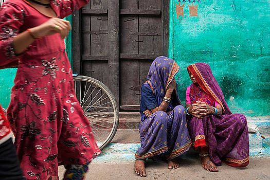 Indian mood by Marji Lang