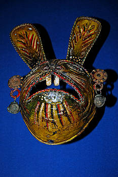 LeeAnn McLaneGoetz McLaneGoetzStudioLLCcom - Indian Rabbit Mask