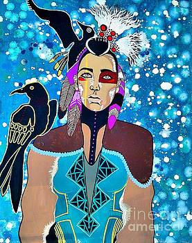 Indian Raven by Amy Sorrell