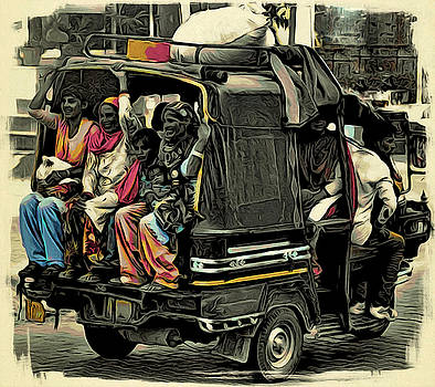 Bliss Of Art - Indian ride