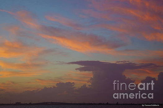 Indian River Sunset by Tannis Baldwin