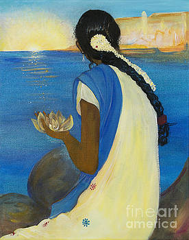 Indian Sunrise by Barbara Klimova