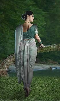Indian Traditional Lady by Shreeharsha Kulkarni