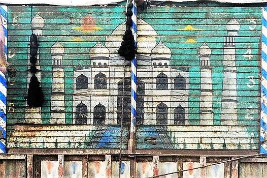 Indian Truck Art 3 - Taj Mahal by Kim Bemis