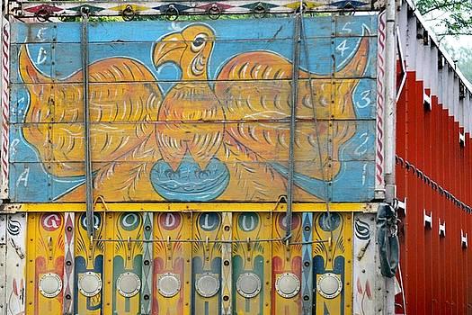 Indian Truck Art 6 - Eagle by Kim Bemis