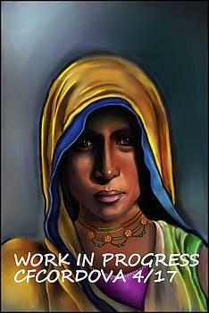 Indian Woman by Carmen Cordova