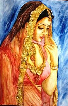 Indian Woman by Shashikanta Parida