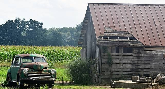 Indiana Back Road Common Denominator by John Glass